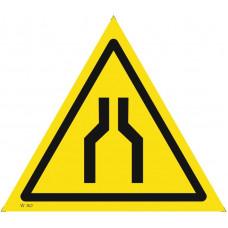 W 30  Осторожно. Сужение проезда (прохода)