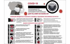 Профилактика коронавирусной инфекции для тех, кому 60 и более лет