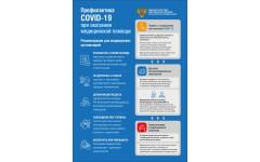 Профилактика COVID-19 при оказании медицинской помощи