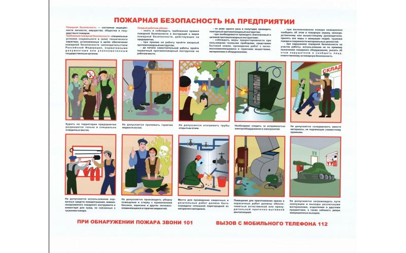 0125 Пожарная безопасность на предприятии