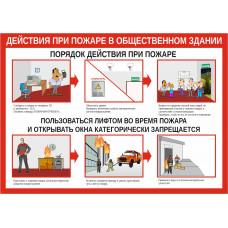 0111 Действия при пожаре в общественном здании