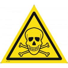 W 03  Опасно. Ядовитые вещества
