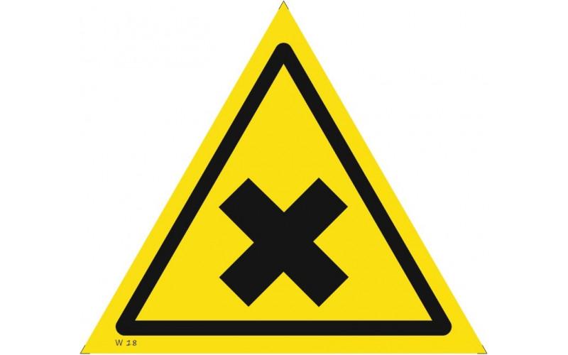 W 18  Осторожно. Вредные для здоровья аллергические(раздражающие) вещества