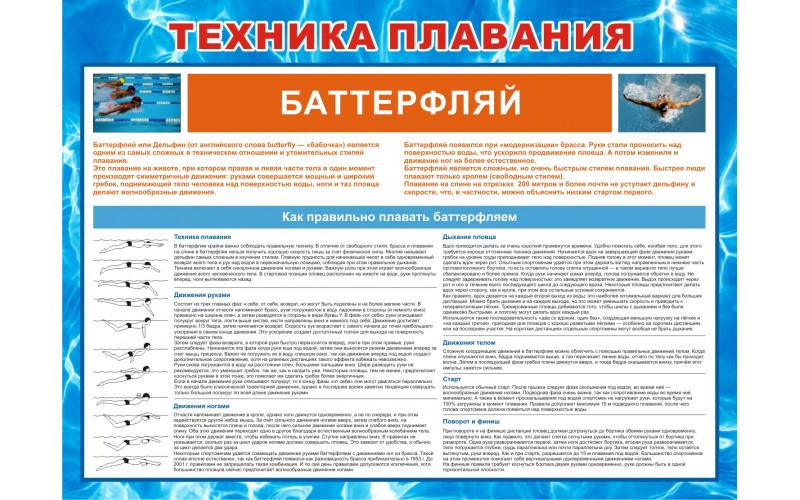 0428 Техника плавания баттерфляем