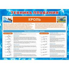 0430 Техника плавания кролем
