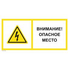 T 20-02  Внимание! Опасное место