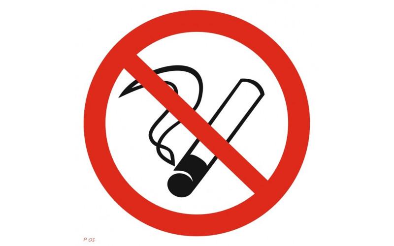 P 01  Запрещается курить