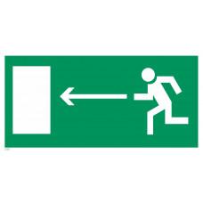 Е 04  Направление к эвакуационному выходу налево