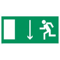 Е 10  Указатель двери эвакуационного выхода (левосторонний)
